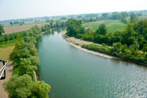 Natura e fiumi: il fiume Po