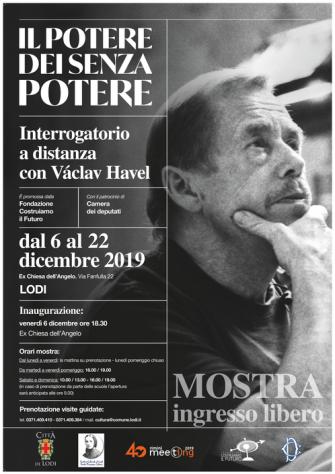 """""""Il potere dei senza potere - Interrogatorio a distanza con Vàclav Havel"""""""