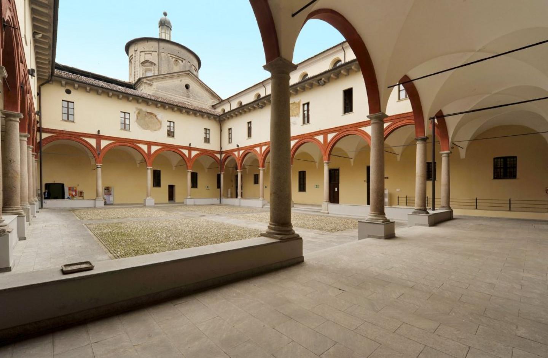 Ex Chiesa di San Cristoforo Chiostro