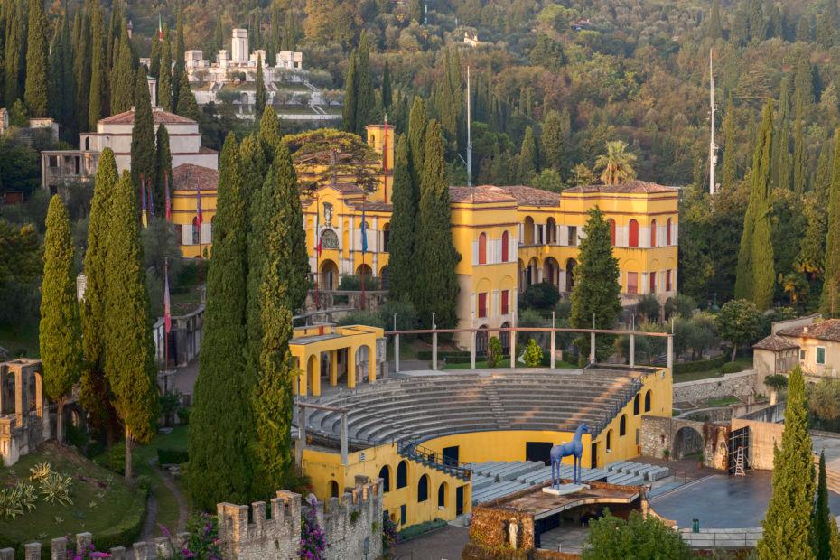 Il Vittoriale degli Italiani sul Garda, per conoscere D'Annunzio