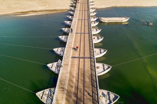 Ponte di barche, Bereguardo (PV)