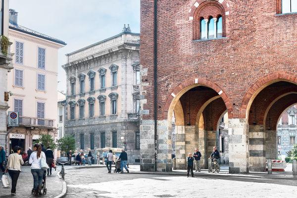 Arengario, centro storico di Monza