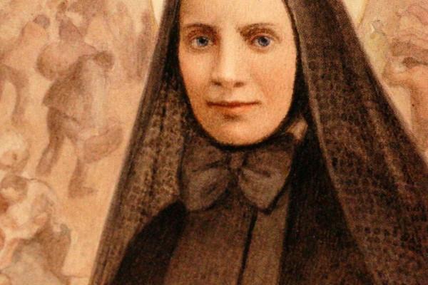 Dipinto Santino S.Francesca Cabrini